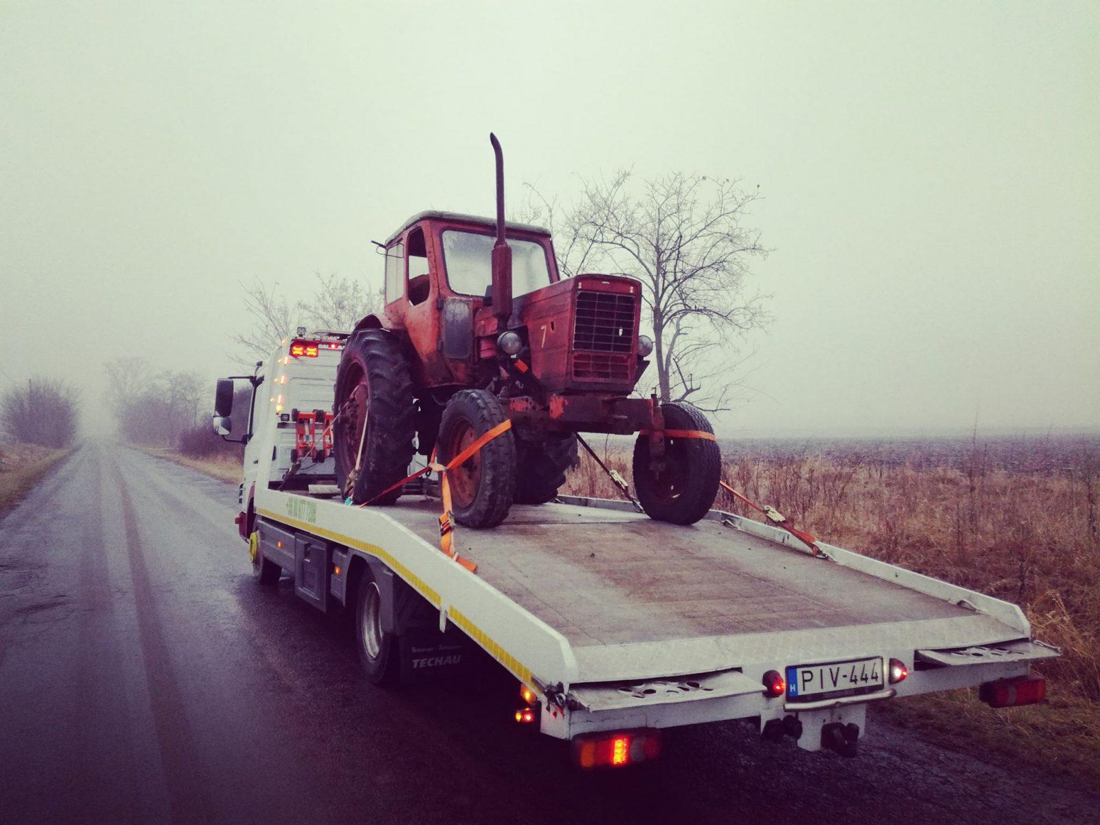 mezőgazdasági gépek autómentése