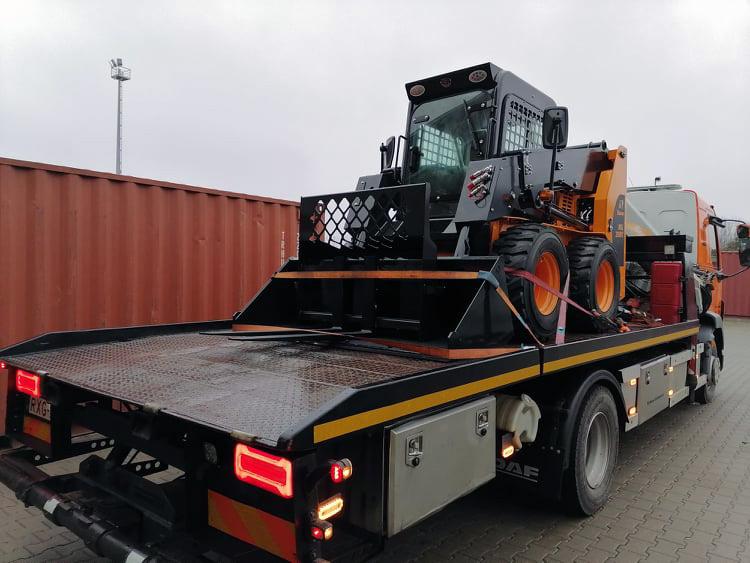 mezőgazdasági gép munkagép mentés szállítás