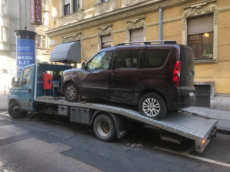 Olcsó autómentés Budapest