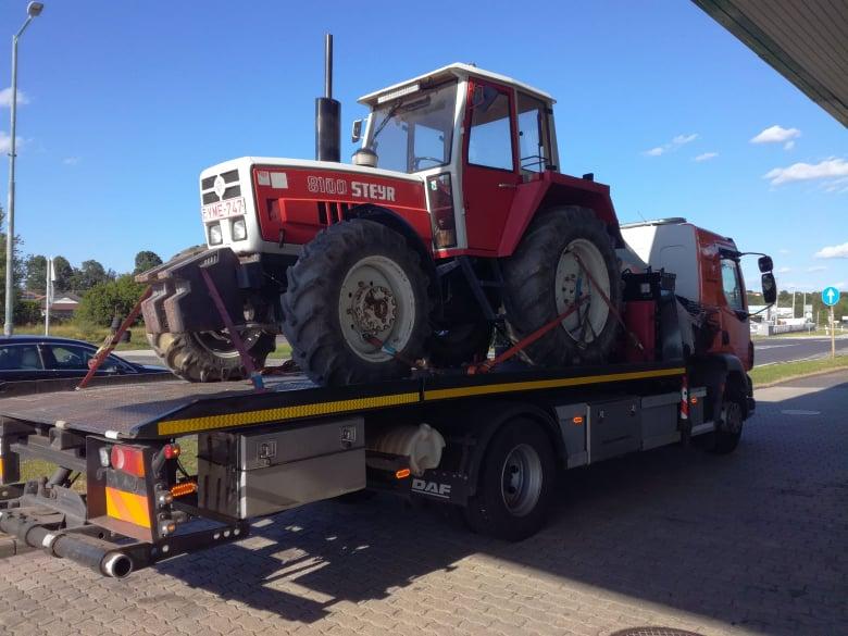 Traktor szállítás- 024 autómentés
