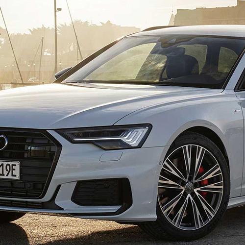Audi A6 autómentés